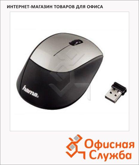 фото: Мышь беспроводная оптическая USB M2150 черно-серебристая
