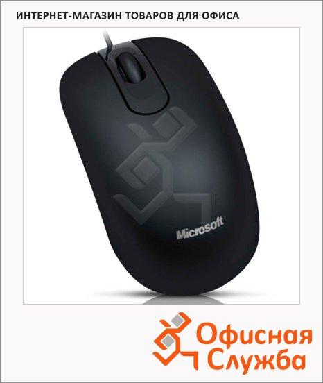 фото: Мышь проводная оптическая USB Retail Optical Mouse 200 1000dpi, черная