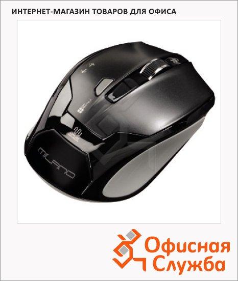 Мышь беспроводная оптическая USB Hama Mirano, 1600dpi, черная