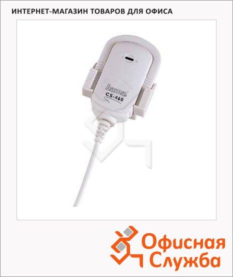 фото: Микрофон проводной Hama CS-460 60дБ 2.4м, с зажимом