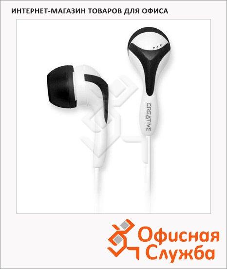 фото: Наушники-вкладыши EP-430 черно-белые 10 Гц-20 кГц