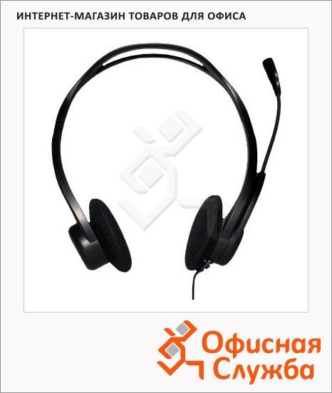 фото: Гарнитура проводная Logitech PC960 черная 20 Гц-20 кГц