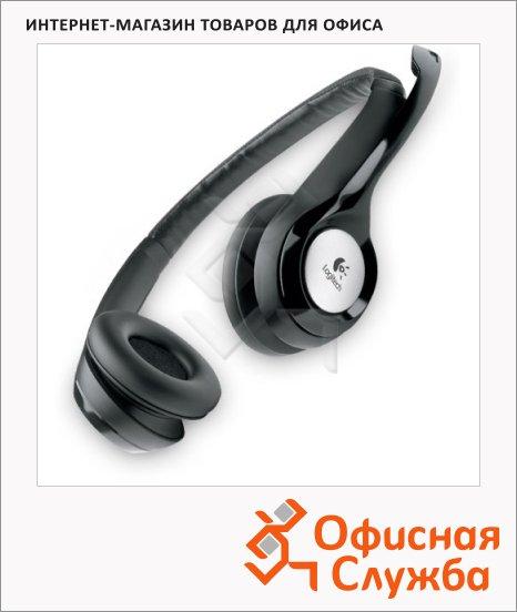 фото: Гарнитура проводная Logitech H390 черная 20 Гц-20 кГц