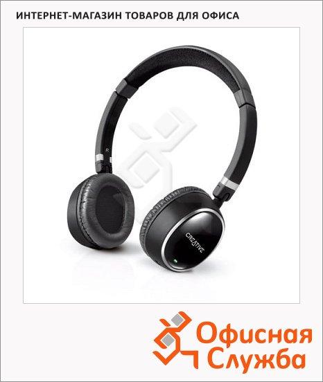 Наушники беспроводные накладные Creative WP-300 черно-серые, 18 Гц-22 кГц