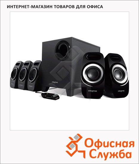 Акустическая система Creative Inspire T6300, 57Вт, черная, 5.1