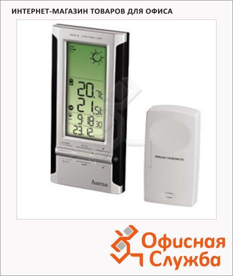 Метеостанция Hama EWS-280 черно-серебристая