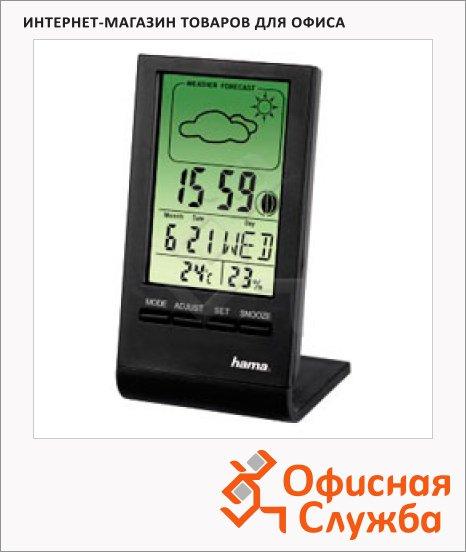 фото: Термометр-гигрометр Hama TH-100 черный