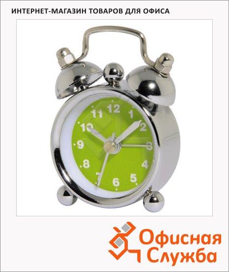 Будильник кварцевый Hama Nostalgia Mini зеленый, H-113924/822325
