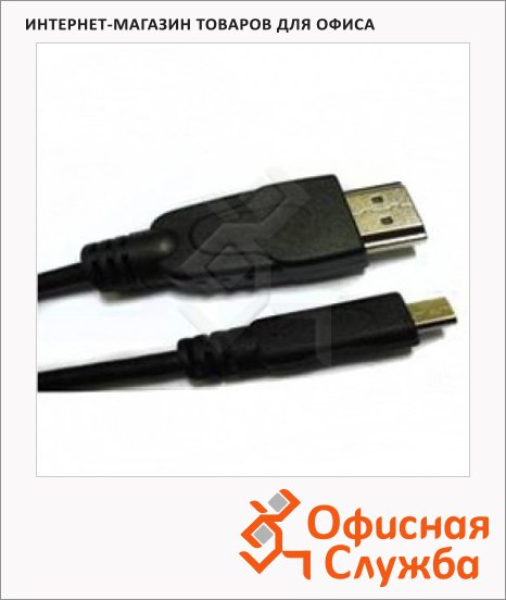 фото: Кабель HDMI-HDMI Buro Micro (m-m) 1.8 м ver 1.4, Ethernet Avinity High Speed