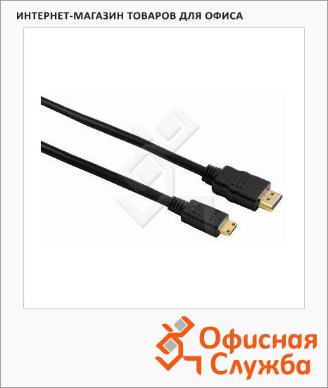 Кабель HDMI-mini HDMI Hama (m-m) 2 м, ver 1.3, черный
