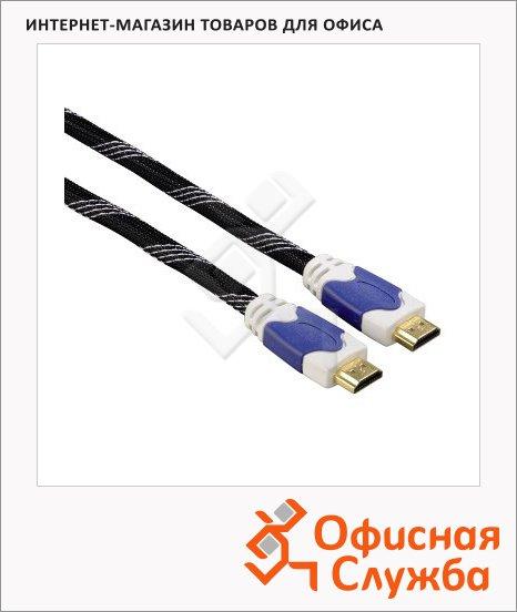 фото: Кабель HDMI-HDMI (m-m) 1.5 м ver 1.4, черный, H-11910