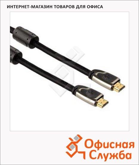 Кабель HDMI-HDMI Hama (m-m) 3 м, ver 1.4, черный, H-83057