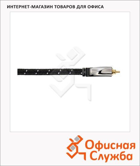 Кабель оптический Toslink Avinity ODT (m-m) 5 м, черный, H-107497