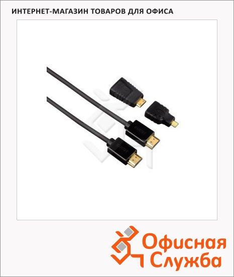 фото: Кабель Micro-HDMI Hama (m-f) 1.5 м H-54561