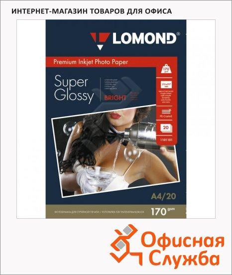 Фотобумага для струйных принтеров Lomond А4