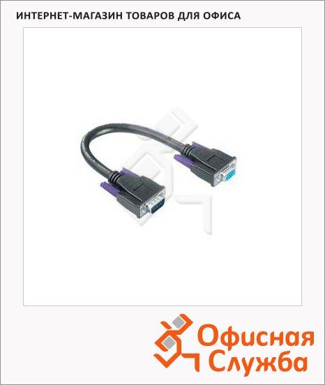 Кабель удлинительный VGA-VGA Hama (m-f) 1.8 м, черный, H-41936