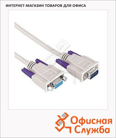 ������ ������������� VGA-VGA Hama (m-f) 1.8 �, 15p/15p, �����, H-42098