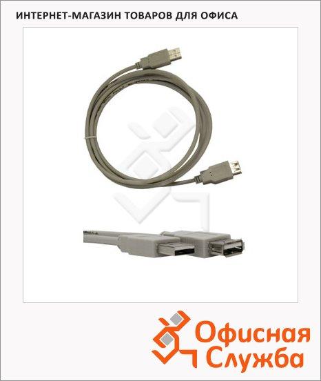 Кабель удлинительный USB 2.0 Buro USB 2.0 A-A (m-f) 3 м