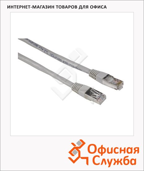 Патч-корд Hama CAT5e STP, 8p8c (RJ45)-8p8c (RJ45), (m-m), 1.5 м
