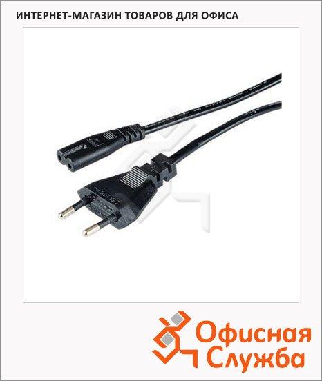 фото: Кабель питания [OnC] 2-pin 1.5м черный, H-29167