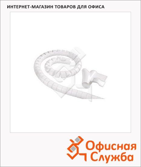 фото: Кабель-органайзер Hama [ObE] 30 мм 1.5 м белый, H-83151