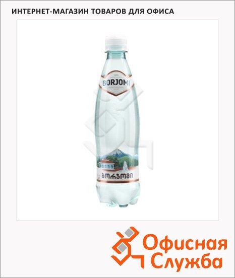 Вода минеральная Боржоми газ, ПЭТ, 0.5л