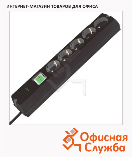 Сетевой фильтр Most LRG-USB 5 розеток, 3м
