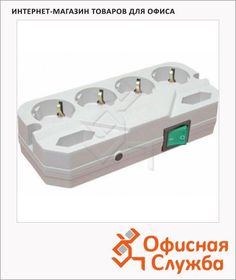 Сетевой фильтр Most СRG 6 розеток, 4 с заземлением + 2 без заземления, 2м, белый