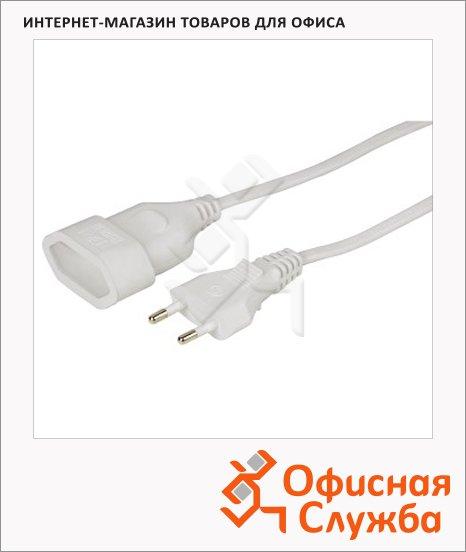 Удлинитель электрический Hama 1 розетка, 3м, белый