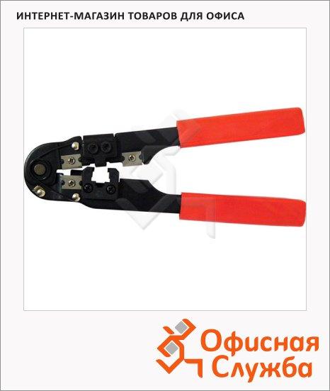 фото: Клещи Buro TL-210 для обжима разъемов, оранжевый