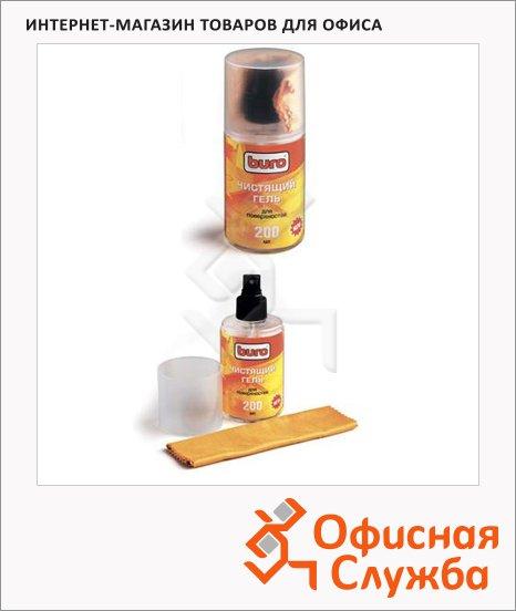 фото: Набор для чистки пластика Buro BU-Gsurface гель 200мл+салфетка 817422
