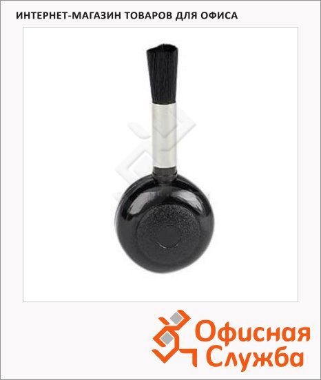 Кисть с грушей для удаления пыли с объектива Hama 5611, d=40мм l=90мм