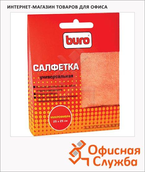 Салфетки чистящие для мониторов Buro BU-Mf 25х25см, микрофибра