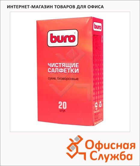 фото: Салфетки чистящие универсальные Buro BU-Udry 20 шт/уп