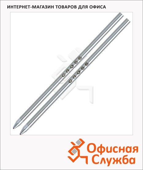 Стержень для шариковой ручки Cross Tech3/Tech3+/Tech4 и Autocross красный, М, 2шт, 8518-5