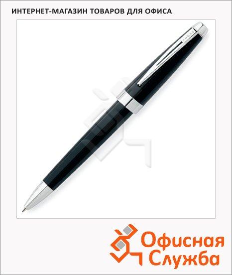 Ручка шариковая Cross Aventura Blue М, черный лак, AT0152-1