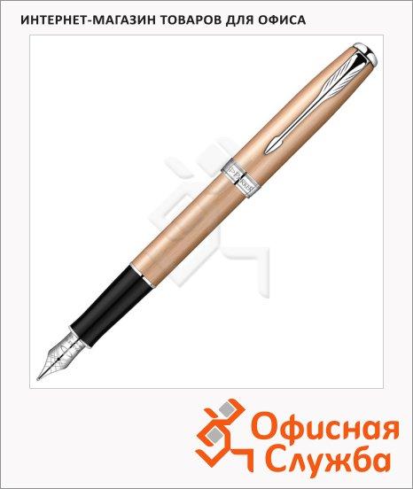 Ручка перьевая Parker Sonnet F540 F, розовое золото корпус