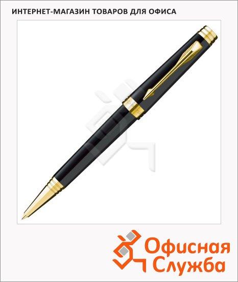 фото: Ручка шариковая Parker Premier Lacque K560 М черный/позолоченный корпус, S0887840