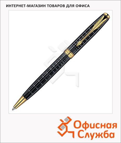 Ручка шариковая Parker Sonnet K531 М, черная, черный/золотой корпус