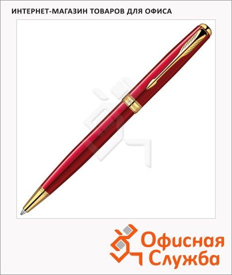 Ручка шариковая Parker Sonnet Slim K439, F, черная
