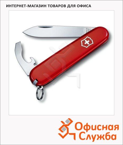 Нож перочинный 84мм Victorinox Bantam 0.2303, 8 функций, 1 уровень, красный