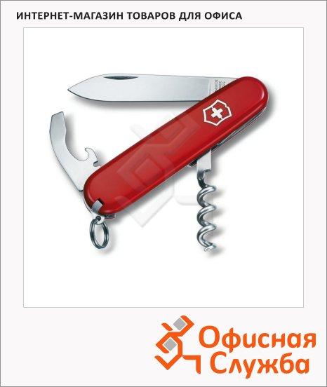 фото: Нож перочинный 84мм Victorinox Waiter 0.3303 9 функций, 1 уровень, красный