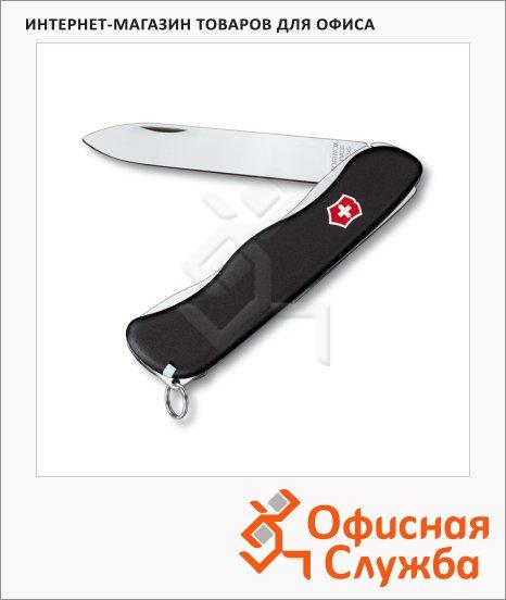 фото: Нож для спецслужб 111мм Victorinox Sentinel 0.8413.3 4 функции, 1 уровень, черный, с фиксатором