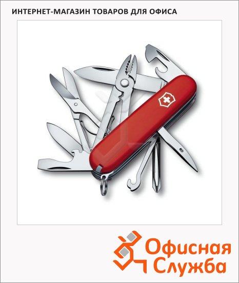 фото: Нож офицерский 91мм Victorinox Deluxe Tinker 1.4723 17 функций, 4 уровня, красный