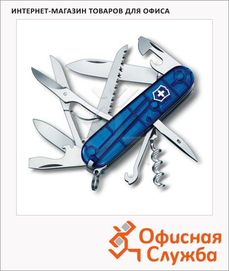 фото: Нож офицерский 91мм Victorinox Huntsman 91мм 15 функций, п/п синий