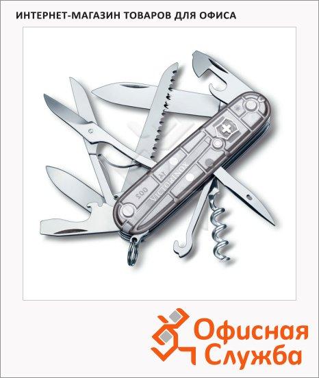 Нож офицерский 91мм Victorinox Huntsman 91мм, 5 функций, п/п серебристый