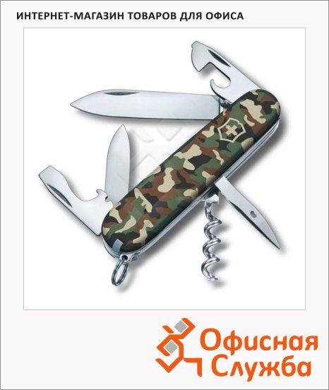 Нож офицерский 91мм Victorinox Spartan 91мм, 12 функций, камуфляж