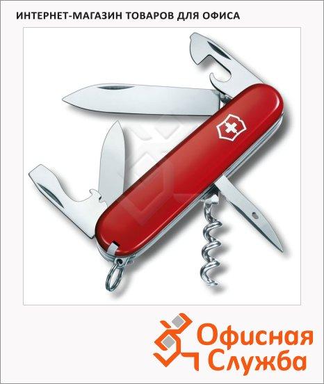 Нож офицерский 91мм Victorinox Spartan 1.3603, 12 функций, 2 уровня, красный