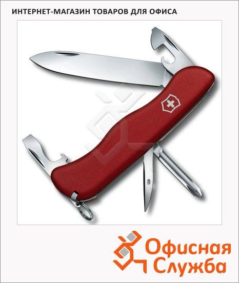 фото: Нож солдатский 111мм Victorinox Adventurer 0.8953 11 функций, 2 уровня, красный, с фиксатором