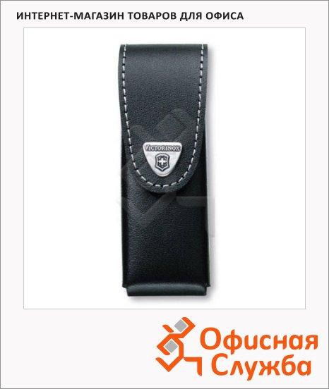 фото: Чехол Victorinox 4.0523.3B1 для ножа 111мм 2-4 уровней, черный, кожаный